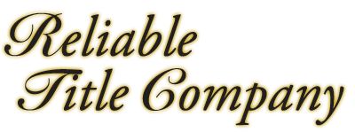 Reliable Title Company
